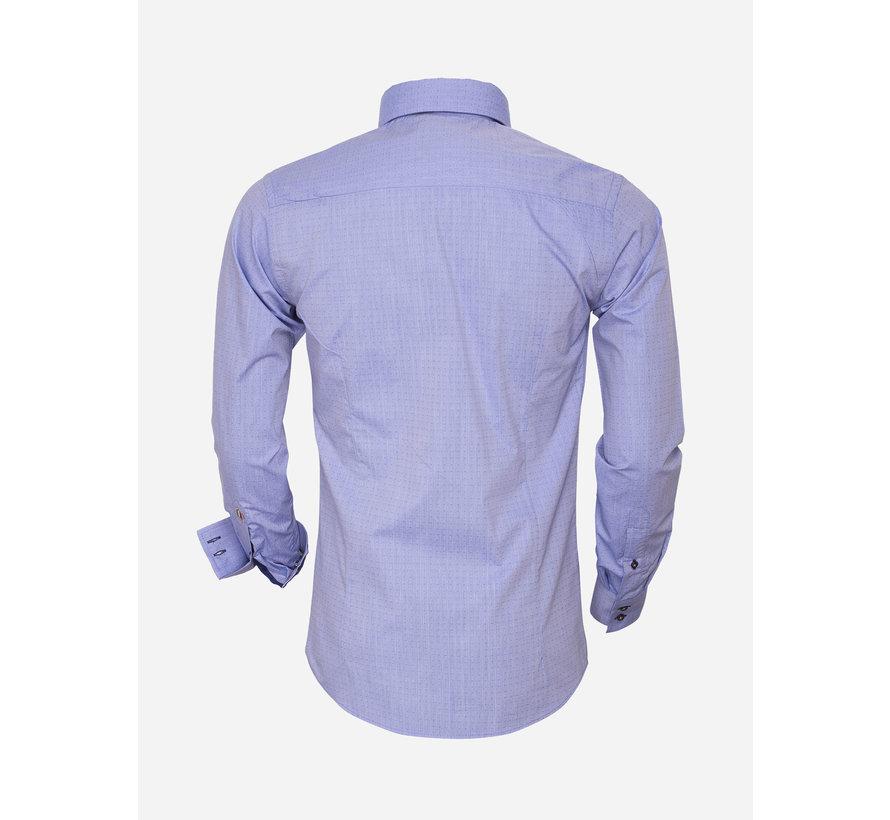 Overhemd Lange Mouw 75452 Blue