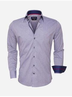 Wam Denim Overhemd Lange Mouw 75452 Navy