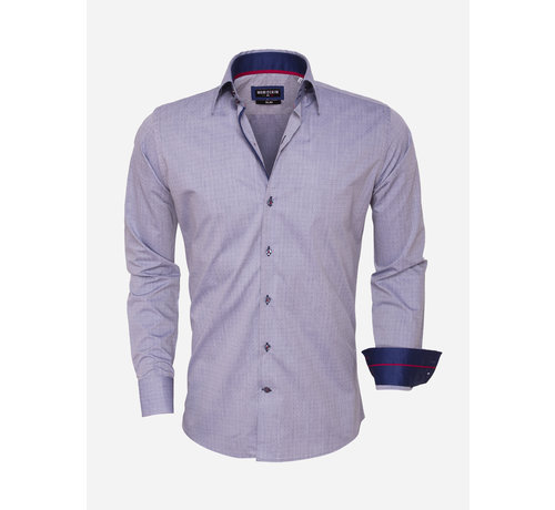 Wam Denim Shirt Long Sleeve 75452 Navy