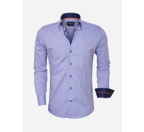 Wam Denim Overhemd Lange Mouw 75452 Blue
