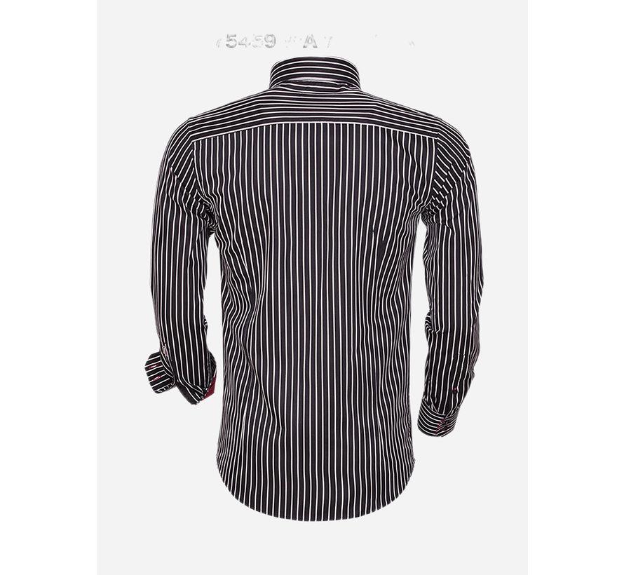 Shirt Long Sleeve 75459 Black