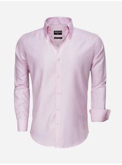 Wam Denim Overhemd Lange Mouw 75517 Pink