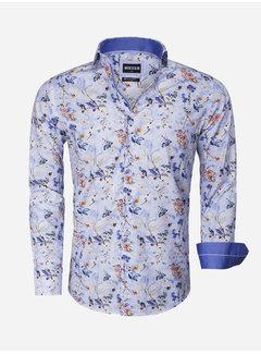 Wam Denim Overhemd Lange Mouw 75539 Blue