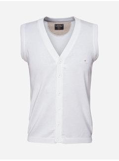 Wam Denim Waist Coat 77209 White