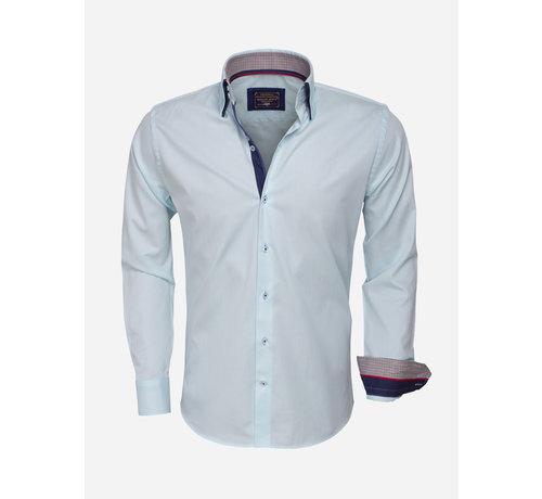 Arya Boy Overhemd  Lange Mouw 85253 Turquoise