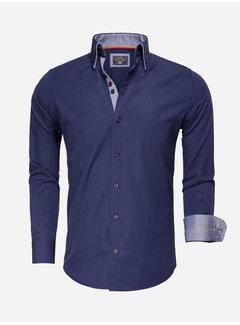 Arya Boy Overhemd Lange Mouw 85262 Dark Navy