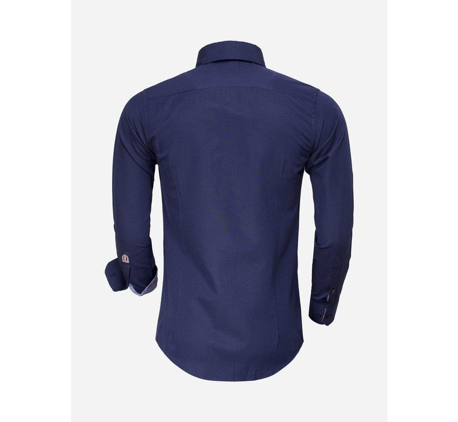Shirt Long Sleeve 85262 Dark Navy