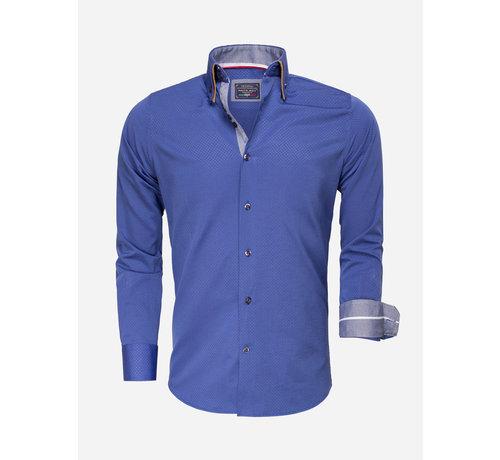 Arya Boy Overhemd Lange Mouw 85262 Light Navy