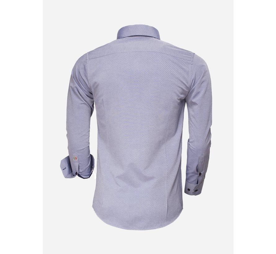 Shirt Long Sleeve 85262 Indigo