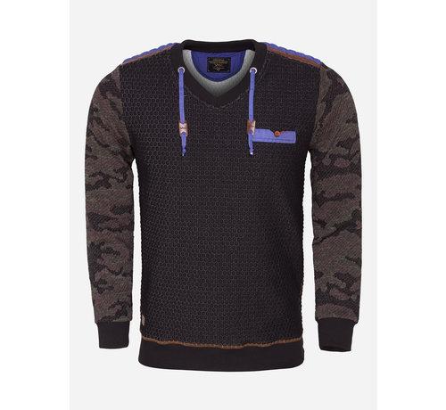 Wam Denim Sweater 76135 Black