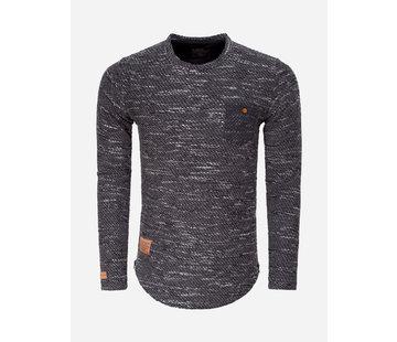 Wam Denim Sweater 76152 Black Anthracite
