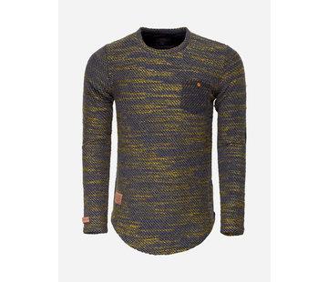 Wam Denim Sweater 76152 Black Peru