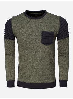 Wam Denim Sweater 76159 Khaki