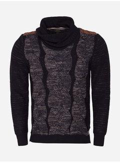 Wam Denim Sweater 77059 Navy Peru