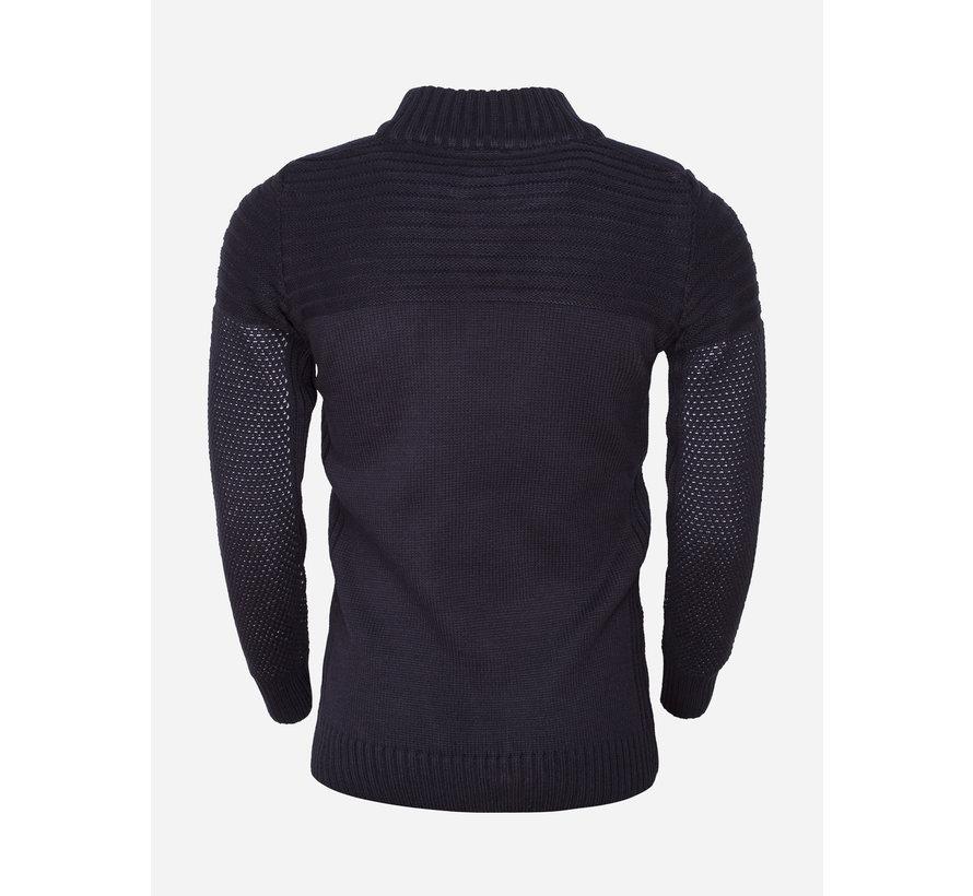 Sweater 77206 Navy White