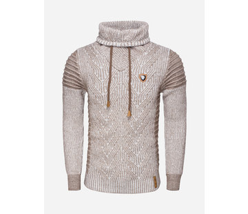 Wam Denim Sweater 77213 Off White Beige