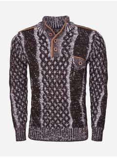 Wam Denim Sweater 77503 Brown