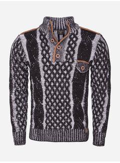 Wam Denim Sweater 77503 Black