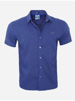 Arya Boy Shirt Short Sleeve   7 Dark Blue