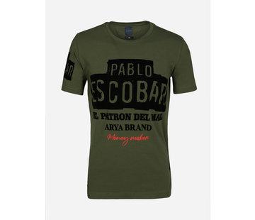 Arya Boy T-Shirt 89344 Orange Khaki
