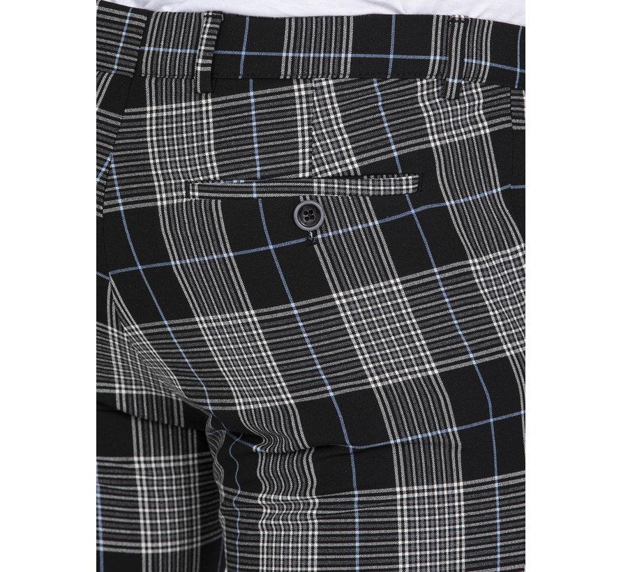 Trousers Hugh Beige Black