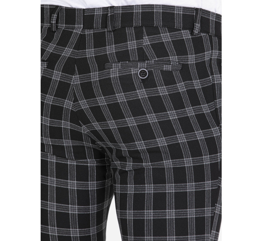 Pantalon Kaarlo Black Grey