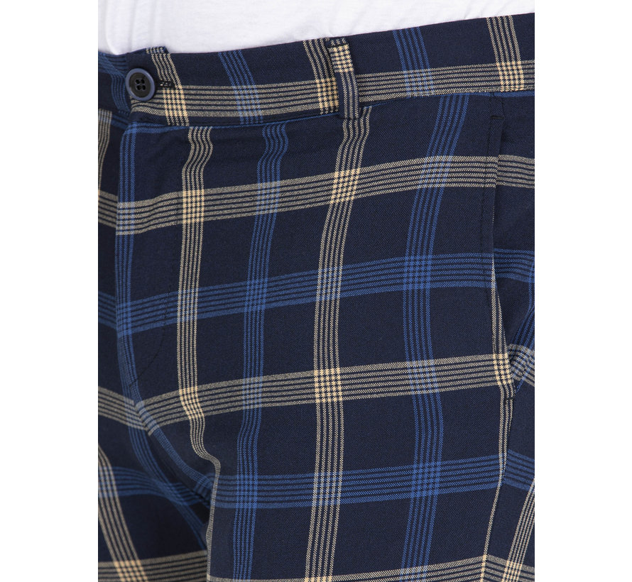 Trousers Kaarlo Navy Yellow