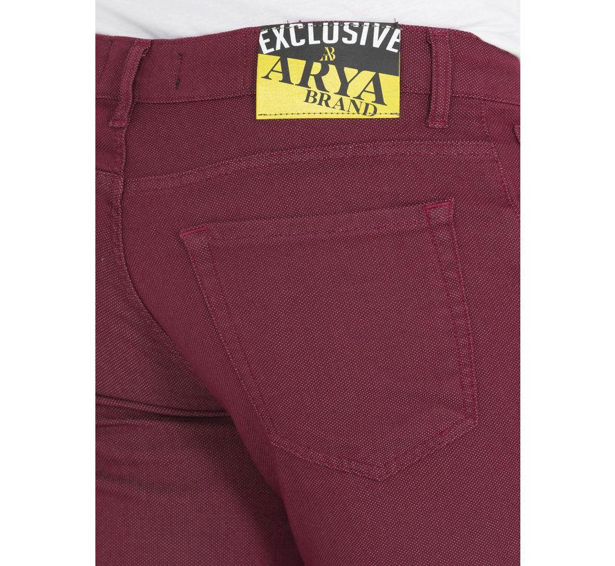 Jeans Davin Dark Red