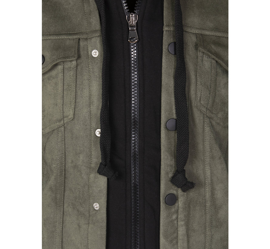 Denim Jacket  Wichita Black khaki