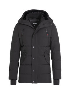 Wam Denim Winter Coat Canterbury Black