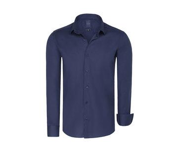 Arya Boy Shirt Short Sleeve Leira Light Navy