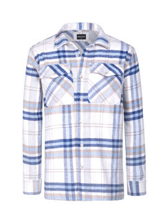 Wam Denim Shirt Long Sleeve  Hugh Blue