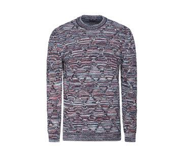 Wam Denim Sweater  Flinn Yellow Brown