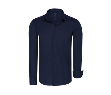 Arya Boy Shirt Long Sleeve Leira Navy