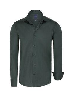 Arya Boy Overhemd Lange Mouw  Leira Dark Green