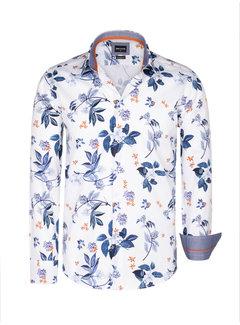 Wam Denim Shirt Long Sleeve Evander White