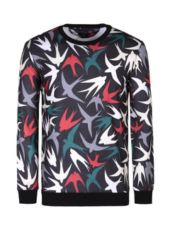 Arya Boy Sweater Mellingen  Brown