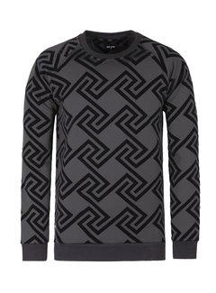 Wam Denim Sweater Richey Black
