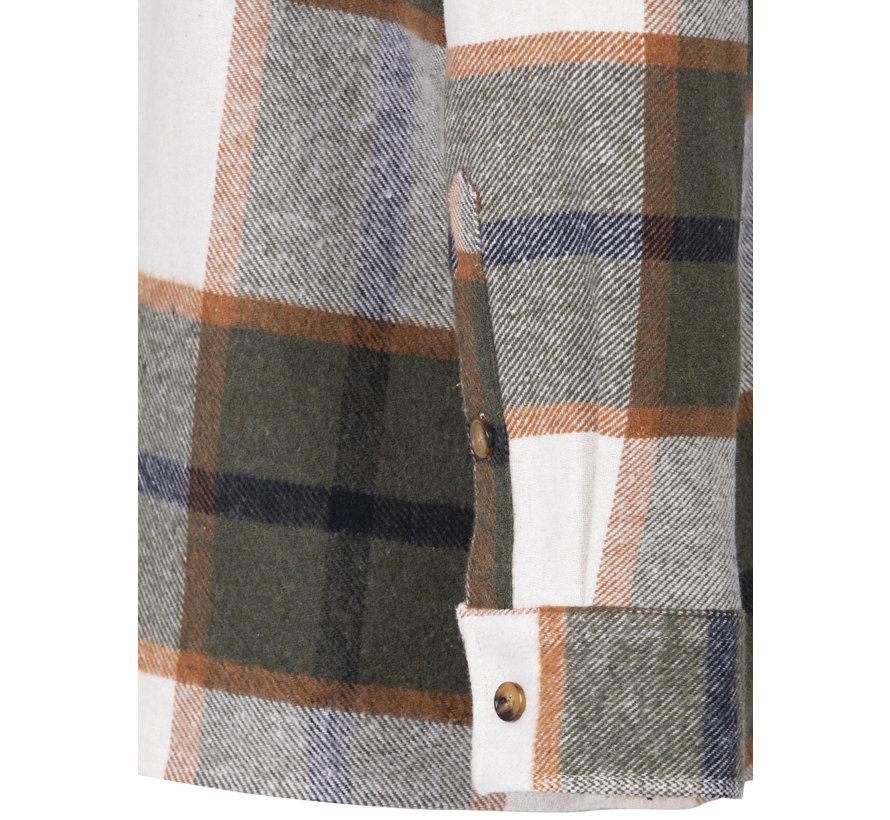 Shirt Long Sleeve Hugh Khaki