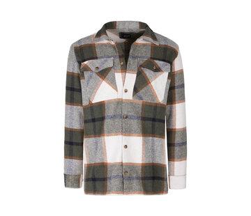 Wam Denim Shirt Long Sleeve Hugh Khaki