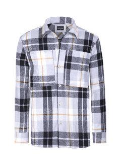 Wam Denim Shirt Long Sleeve Magnus Grey