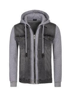 Wam Denim Denim Jacket Thun Grey
