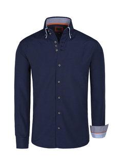 Arya Boy Shirt Long Sleeve   Montijo Navy Royal Blue