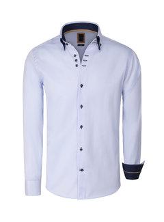 Arya Boy Shirt Long Sleeve  Meda Blue