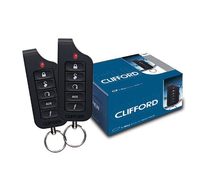 Clifford 4104X Digitaal Remote Start systeem