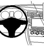 Brodit VW E-Golf Mounting Bracket