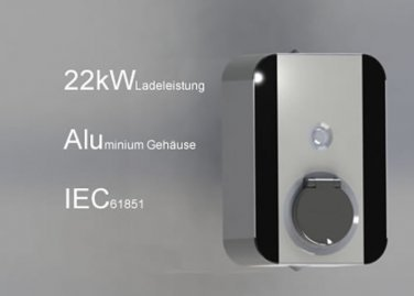 CrOhm 22 kW Chargingstation Wall-Mounted