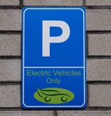 """Sign """"EV Only"""""""