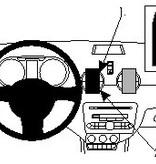 Brodit Audi A1 Grundhalterung