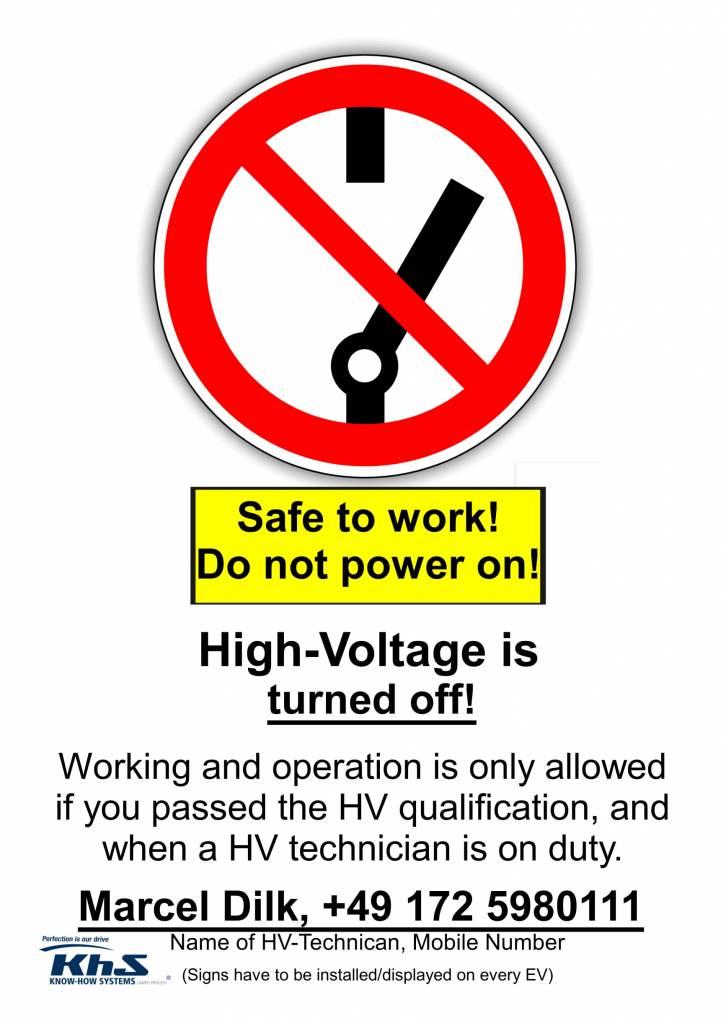 HV Sign